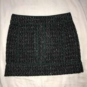 J. Crew Wool Mini Skirt